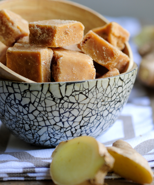 scottish tablet with ginger