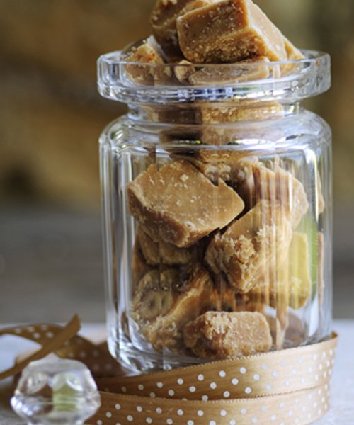 Scottish Tablet with Treacle